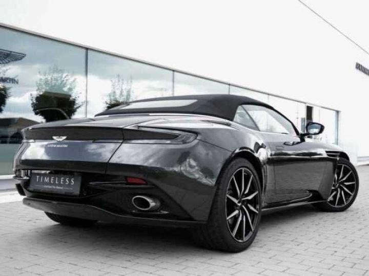 Aston Martin DB11 Volante # Modèle personnalisé Q Paint Céramic Grey métal - 2