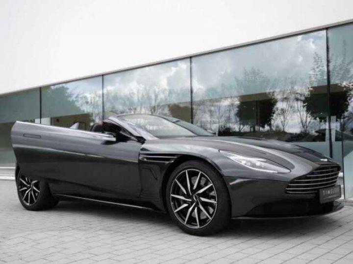 Aston Martin DB11 Volante # Modèle personnalisé Q Paint Céramic Grey métal - 3