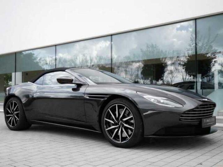 Aston Martin DB11 Volante # Modèle personnalisé Q Paint Céramic Grey métal - 4