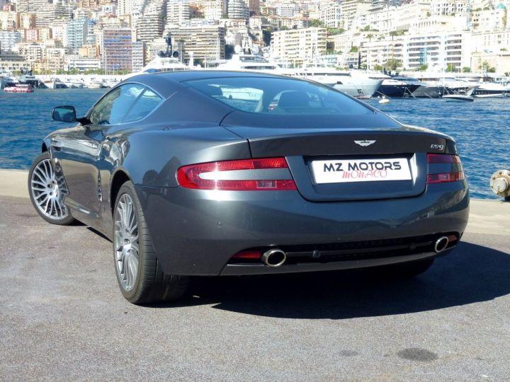 Aston Martin DB9 5.9 V12 477 CV TOUCHTRONIC Gris Méteorite Occasion - 11
