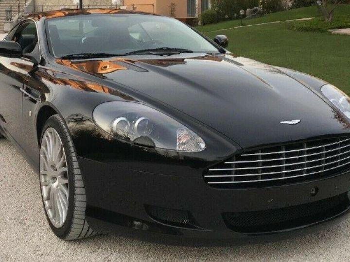 Aston Martin DB9 COUPE 5.9 V12 477 TOUCHTRONIC noir métal - 1