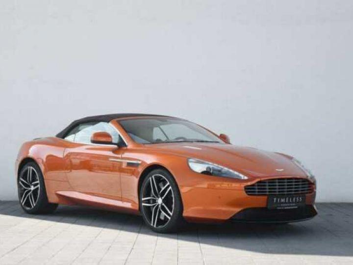 Aston Martin DB9 GT Volante Madagascar Orange métal - 1