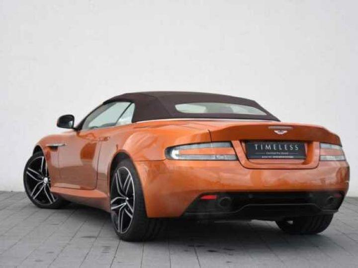 Aston Martin DB9 GT Volante Madagascar Orange métal - 2