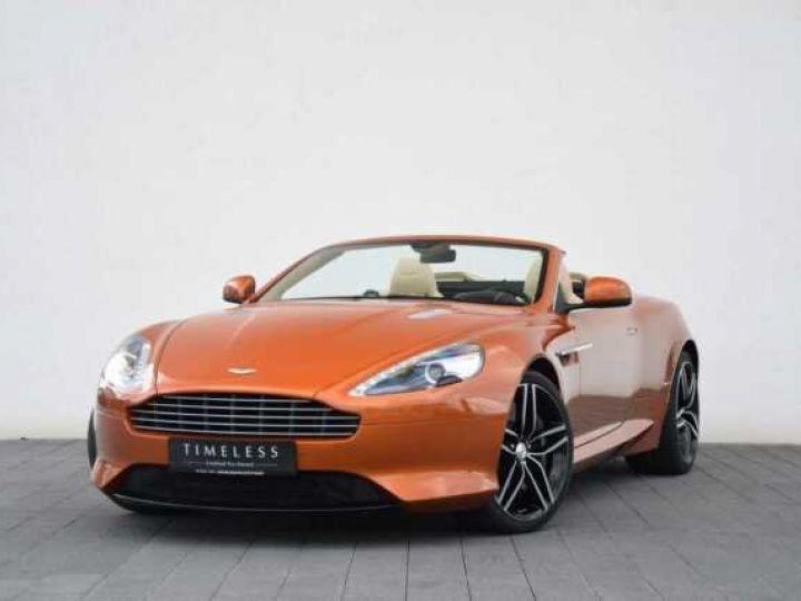 Aston Martin DB9 GT Volante Madagascar Orange métal - 3