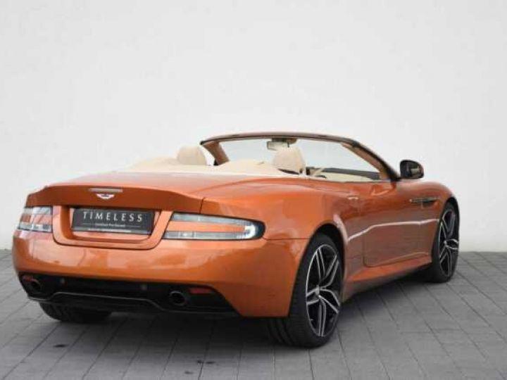 Aston Martin DB9 GT Volante Madagascar Orange métal - 4