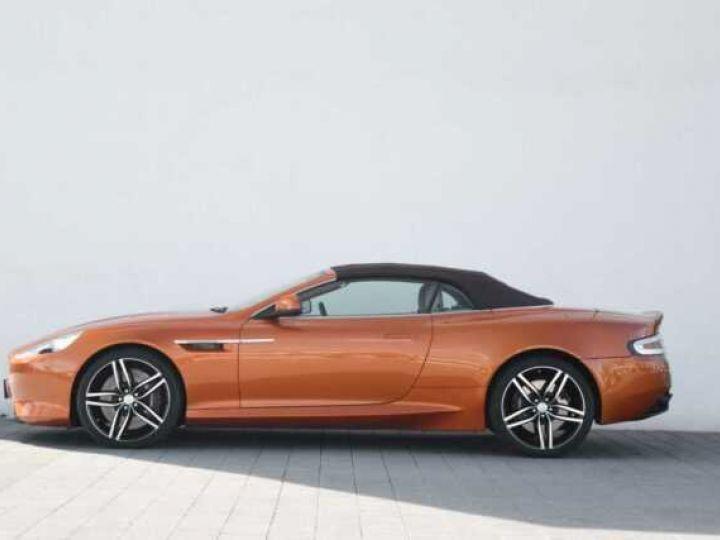 Aston Martin DB9 GT Volante Madagascar Orange métal - 13