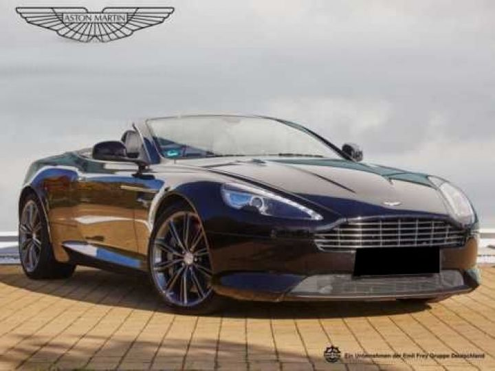Aston Martin DB9 V12 5.9 517CH TOUCHTRONIC II NOIR Occasion - 1