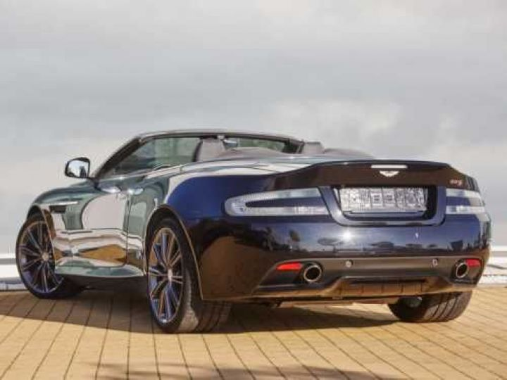 Aston Martin DB9 V12 5.9 517CH TOUCHTRONIC II NOIR Occasion - 4