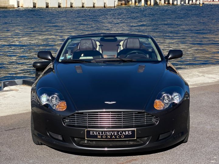 Aston Martin DB9 V12 VOLANTE 455 CV - MONACO GRIS METAL - 2