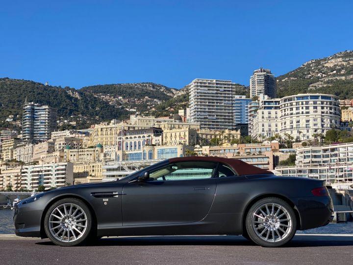 Aston Martin DB9 V12 VOLANTE 455 CV - MONACO GRIS METAL - 4