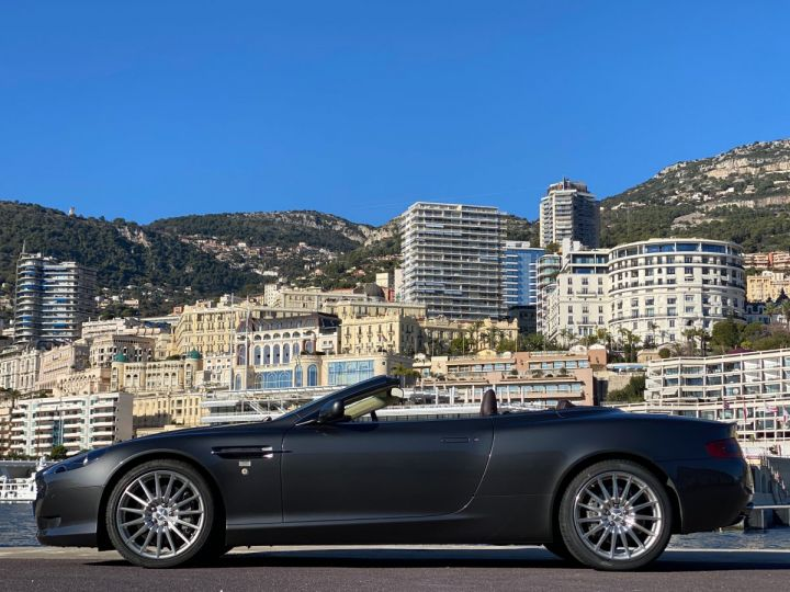 Aston Martin DB9 V12 VOLANTE 455 CV - MONACO GRIS METAL - 5