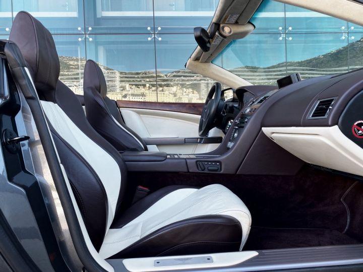 Aston Martin DB9 V12 VOLANTE 455 CV - MONACO GRIS METAL - 11