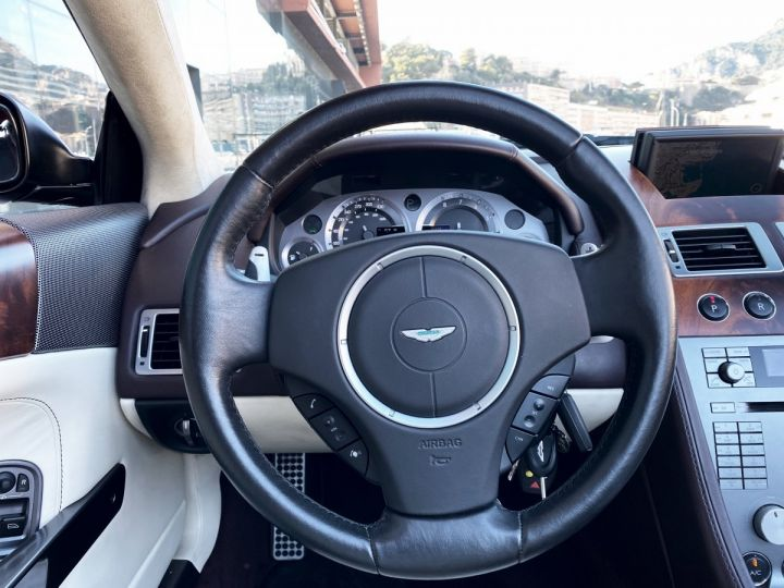 Aston Martin DB9 V12 VOLANTE 455 CV - MONACO GRIS METAL - 13