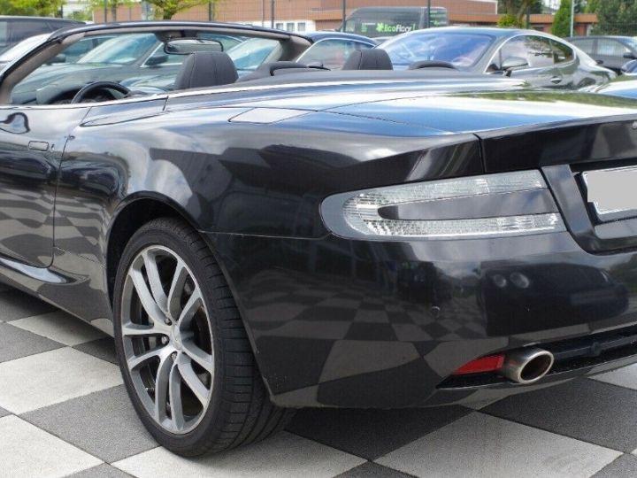 Aston Martin DB9 VOLANTE 5.9 V12 477 TOUCHTRONIC (06/2011) gris foncé métal - 7
