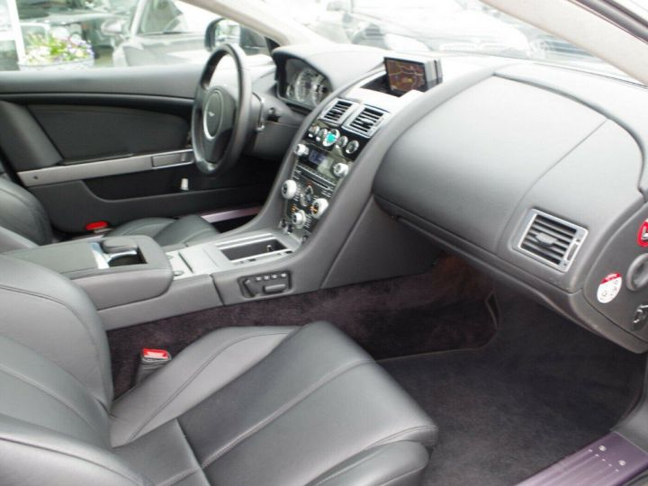 Aston Martin DB9 VOLANTE 5.9 V12 477 TOUCHTRONIC (06/2011) gris foncé métal - 12