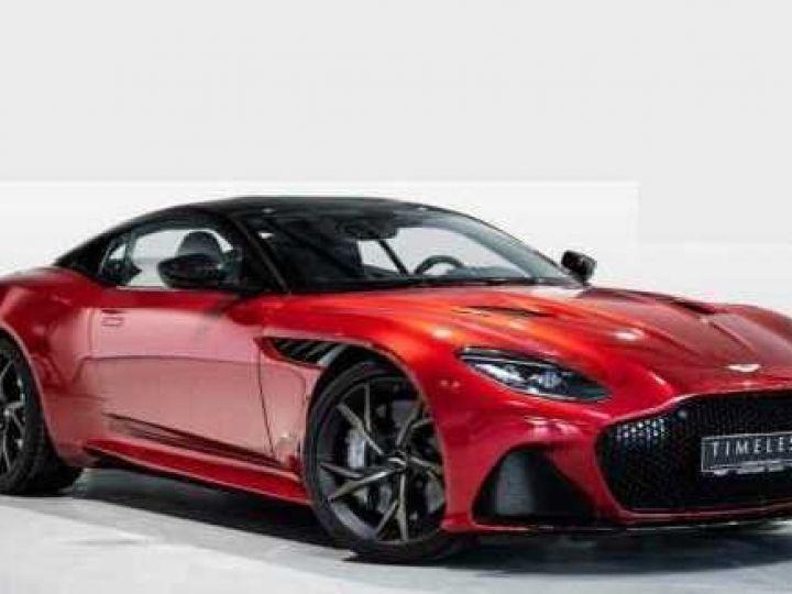 Aston Martin DBS SU'PERLEGGERA # RED DIVINE # BODYPACK CARBON Red Divine métsl - 1