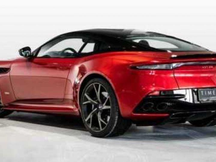 Aston Martin DBS SU'PERLEGGERA # RED DIVINE # BODYPACK CARBON Red Divine métsl - 4