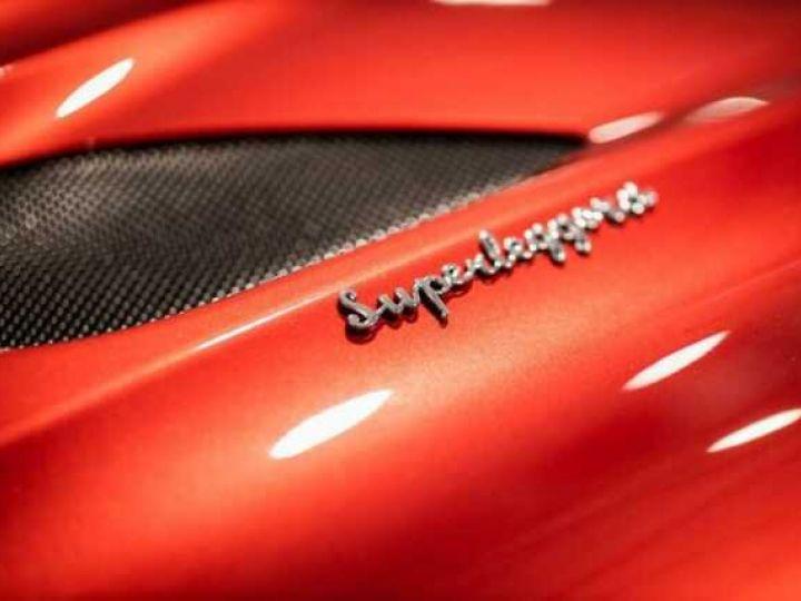 Aston Martin DBS SU'PERLEGGERA # RED DIVINE # BODYPACK CARBON Red Divine métsl - 8