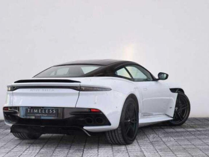 Aston Martin DBS SUPERLEGGERA#Cuir Blanc Argento métal Dynamic Futurist White Stone métal - 3