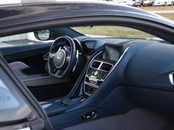 Aston Martin DBS SUPERLEGGERA#Cuir Blanc Argento métal Dynamic Futurist White Stone métal - 6