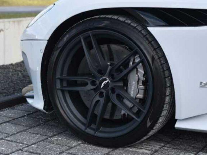 Aston Martin DBS SUPERLEGGERA#Cuir Blanc Argento métal Dynamic Futurist White Stone métal - 7