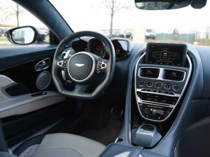 Aston Martin DBS SUPERLEGGERA#Cuir Blanc Argento métal Dynamic Futurist White Stone métal - 8