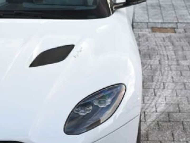 Aston Martin DBS SUPERLEGGERA#Cuir Blanc Argento métal Dynamic Futurist White Stone métal - 10