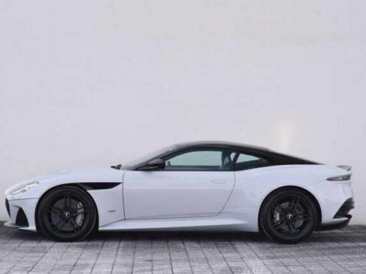 Aston Martin DBS SUPERLEGGERA#Cuir Blanc Argento métal Dynamic Futurist White Stone métal - 11