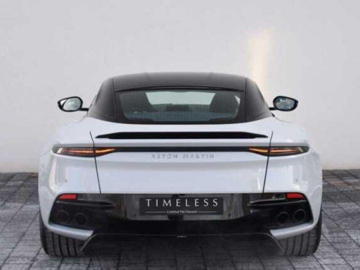 Aston Martin DBS SUPERLEGGERA#Cuir Blanc Argento métal Dynamic Futurist White Stone métal - 12