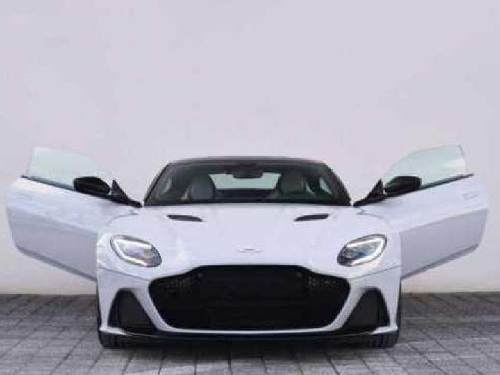 Aston Martin DBS SUPERLEGGERA#Cuir Blanc Argento métal Dynamic Futurist White Stone métal - 19