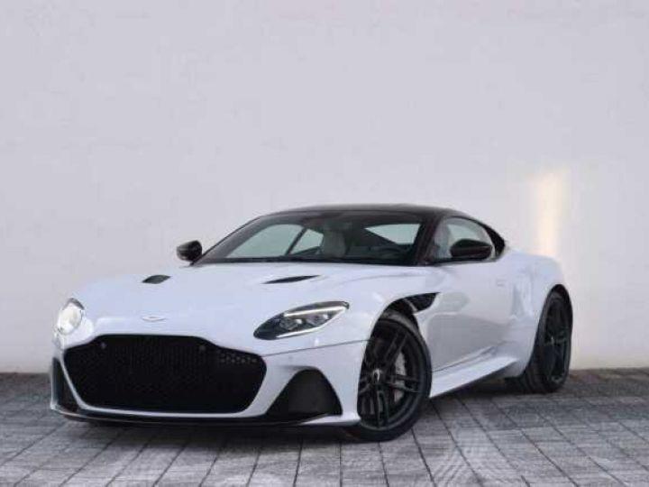 Aston Martin DBS SUPERLEGGERA#Cuir Blanc Argento métal Dynamic Futurist White Stone métal - 2