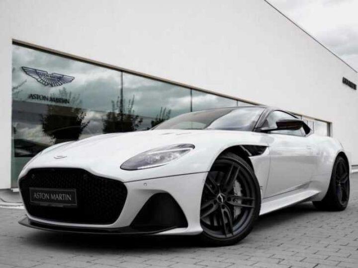 Aston Martin DBS SUPERLEGGERA#Cuir Blanc Argento métal Dynamic Futurist White Stone (AML SPECIAL) - 1