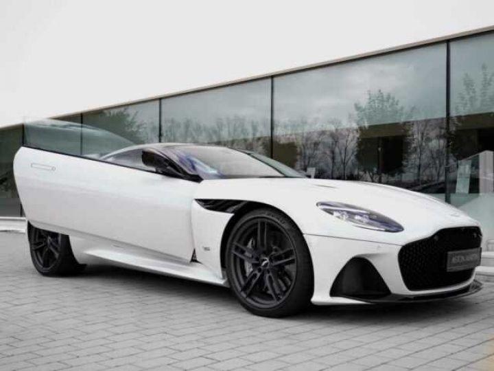 Aston Martin DBS SUPERLEGGERA#Cuir Blanc Argento métal Dynamic Futurist White Stone (AML SPECIAL) - 3