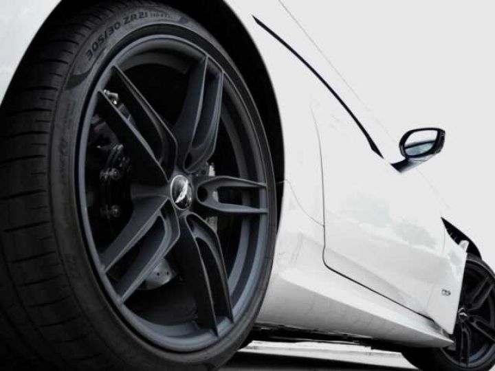 Aston Martin DBS SUPERLEGGERA#Cuir Blanc Argento métal Dynamic Futurist White Stone (AML SPECIAL) - 4