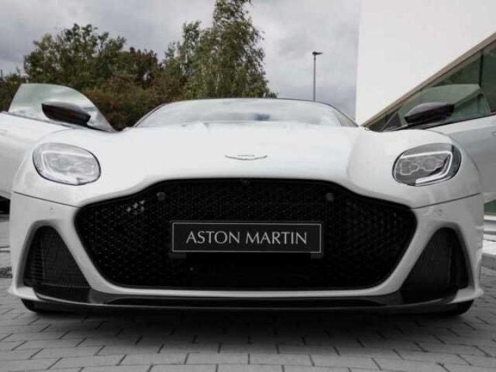 Aston Martin DBS SUPERLEGGERA#Cuir Blanc Argento métal Dynamic Futurist White Stone (AML SPECIAL) - 5