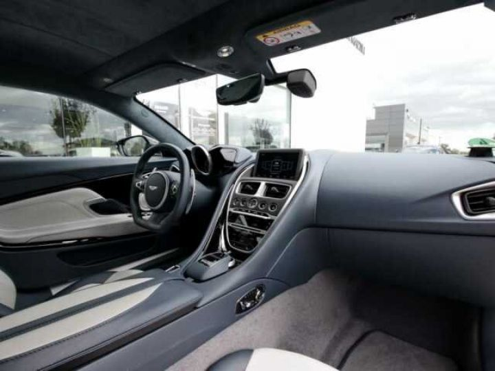 Aston Martin DBS SUPERLEGGERA#Cuir Blanc Argento métal Dynamic Futurist White Stone (AML SPECIAL) - 7