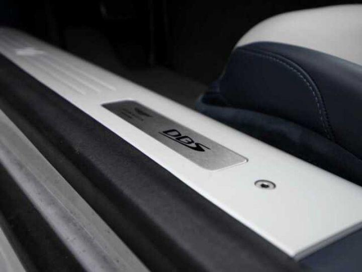 Aston Martin DBS SUPERLEGGERA#Cuir Blanc Argento métal Dynamic Futurist White Stone (AML SPECIAL) - 21
