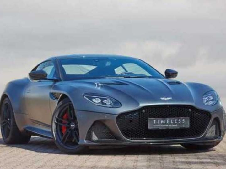Aston Martin DBS SUPERLEGGERA #PEINTURE EXCLUSIVE Q Satin Xénon Grey (Q Satin) - 1