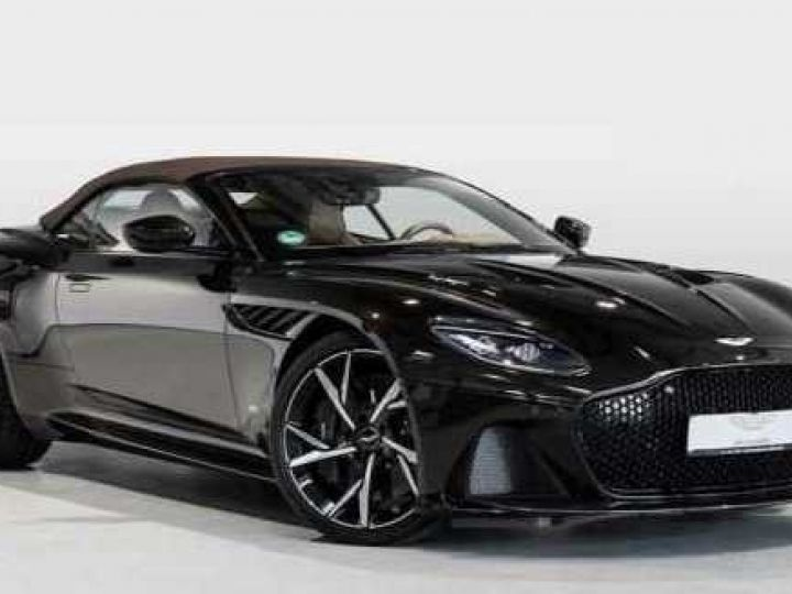 Aston Martin DBS SUPERLEGGERA VOLANTE#BODYPACK CARBON Marron Black métal - 1