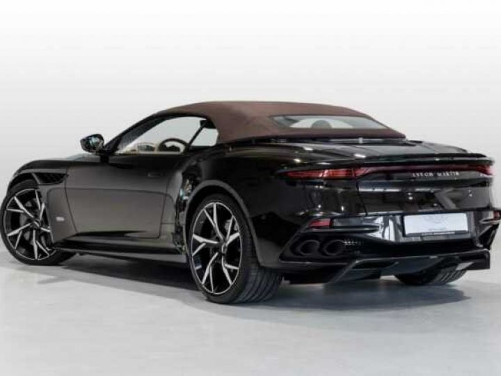 Aston Martin DBS SUPERLEGGERA VOLANTE#BODYPACK CARBON Marron Black métal - 2