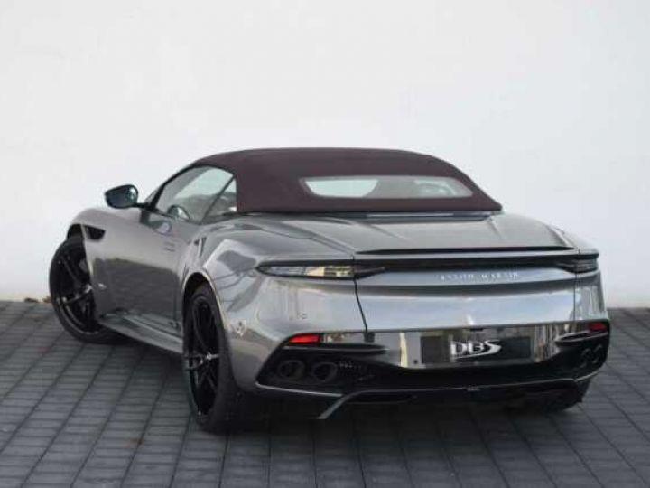 Aston Martin DBS Volante #A Gentleman in a Racing Suit# 725 CV Hammerhead Silver métal - 3