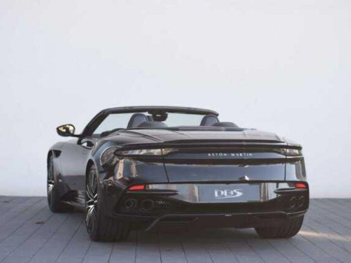 Aston Martin DBS Volante #Le cabriolet le plus puissant de Mister BOND#725CV Onyx Black - 4