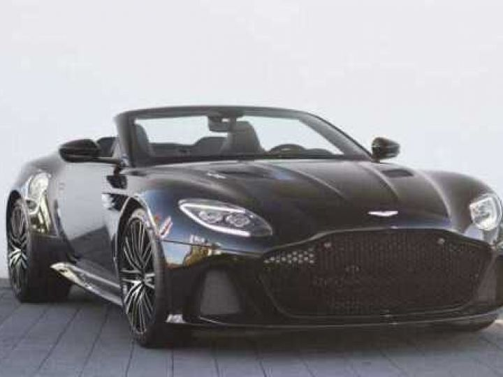 Aston Martin DBS Volante #Le cabriolet le plus puissant de Mister BOND#725CV Onyx Black - 2