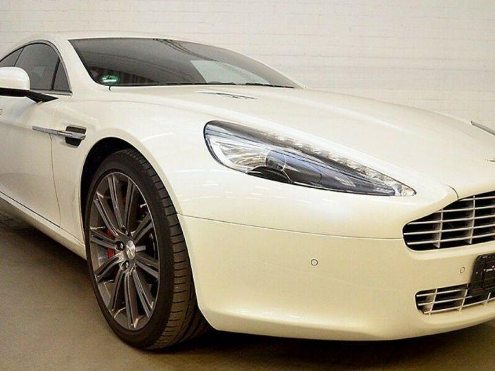 Aston Martin Rapide 5.9 477 V12 TOUCHTRONIC Blanc métal  nacré  - 1