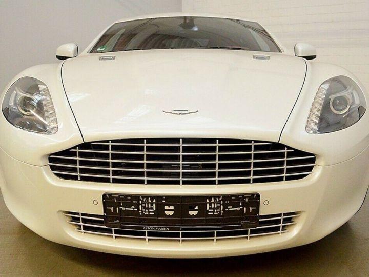 Aston Martin Rapide 5.9 477 V12 TOUCHTRONIC Blanc métal  nacré  - 2