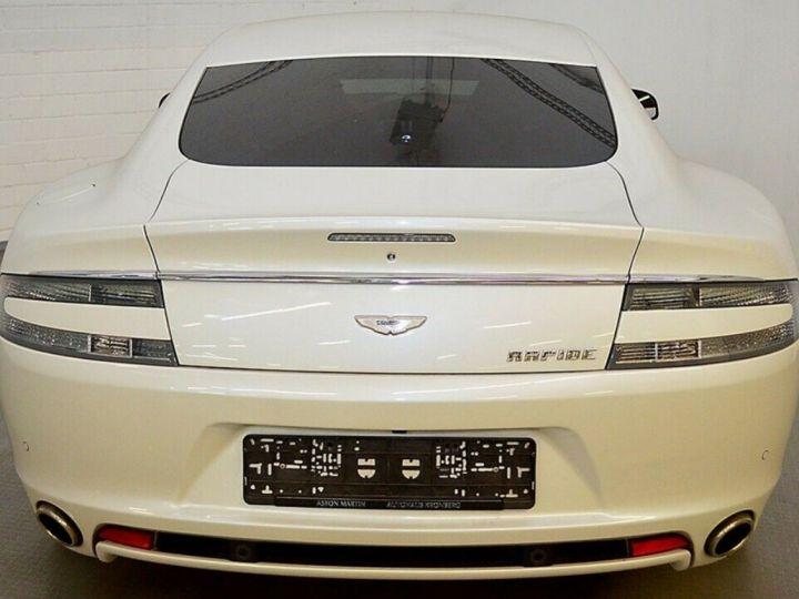 Aston Martin Rapide 5.9 477 V12 TOUCHTRONIC Blanc métal  nacré  - 3