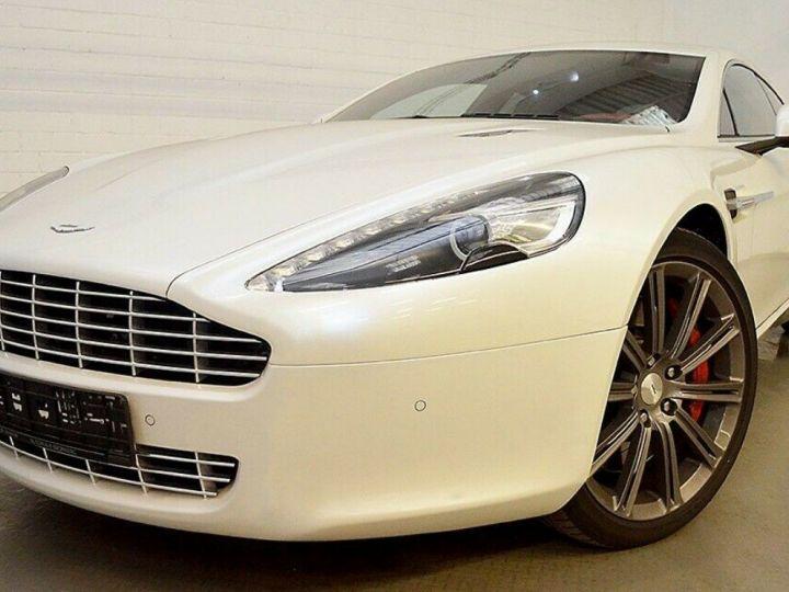 Aston Martin Rapide 5.9 477 V12 TOUCHTRONIC Blanc métal  nacré  - 4