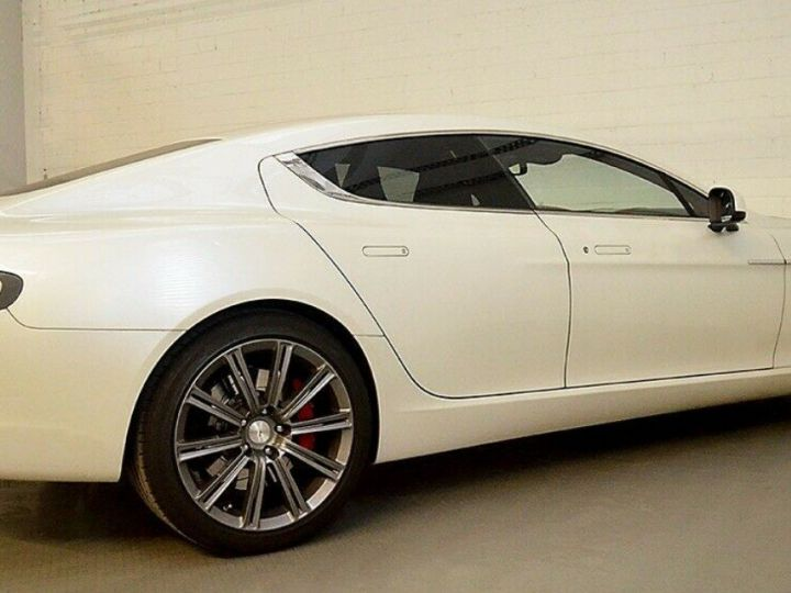 Aston Martin Rapide 5.9 477 V12 TOUCHTRONIC Blanc métal  nacré  - 6