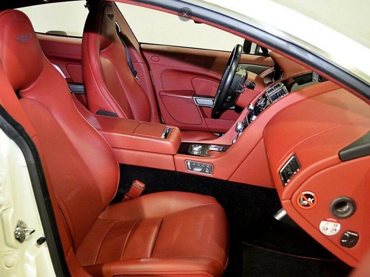 Aston Martin Rapide 5.9 477 V12 TOUCHTRONIC Blanc métal  nacré  - 11