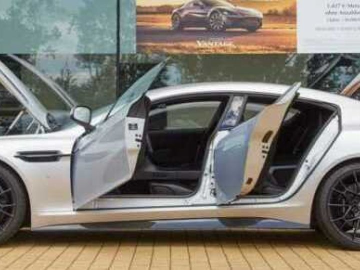 Aston Martin RAPIDE S AMR 1 of 210 Lightning Silver métal - 3